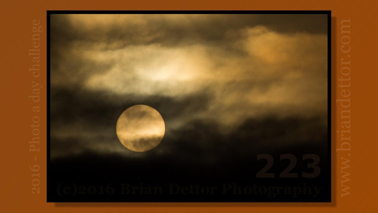 Day #223 - Moody Sunrise