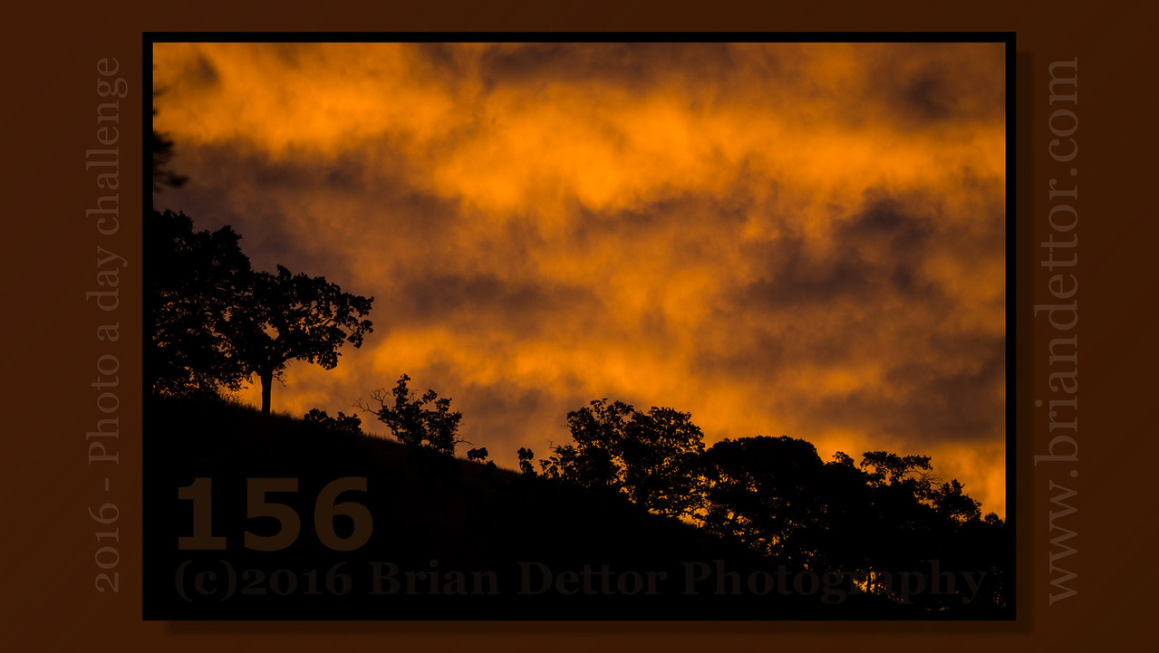 Day #156 - Sunrise over Grasshopper Hill