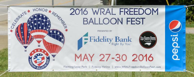 2016 WRAL Freedom Balloon Fest, Fuquay-Varina, 5-30-2016