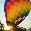 Fuquay-Varina hosts a Freedom Balloon Fest Special Event for Veterans, 5-26-2016
