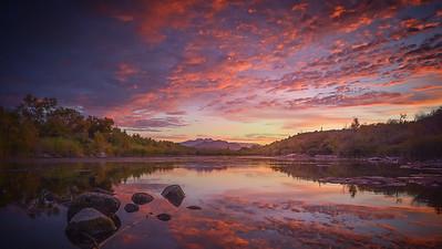 Sunrise Salt River