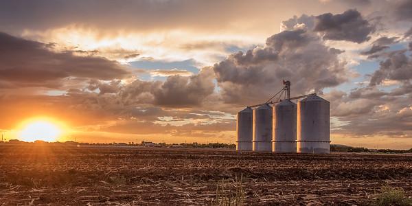 Monsoon clouds in Gilbert Arizona