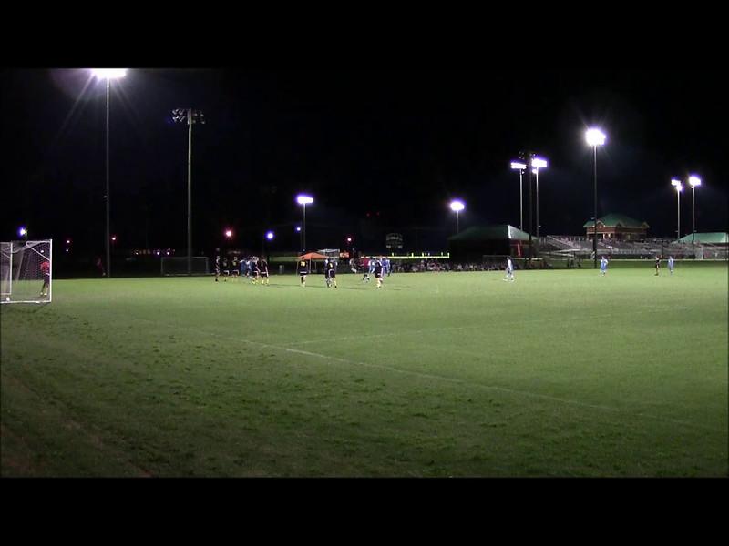 08-27-16 Josh gets goal from free kick at Alabama Shootout