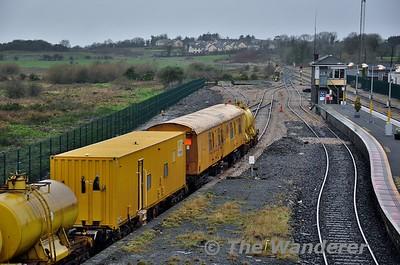 Sperry Train at Claremorris. Sun 31.01.16