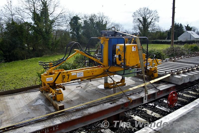 The Relay Train at Ballybrophy. Fri 04.03.16