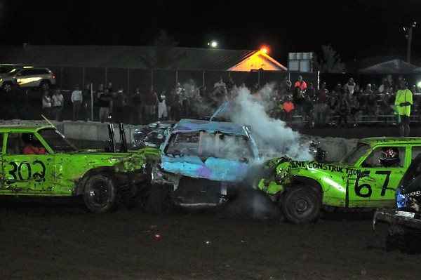 "2016 Shenandoah County Fair ""DEMO DERBY"" 8-29-16"