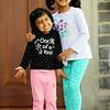Aani and Diya in DC