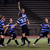Varsity Soccer Goal Celebration