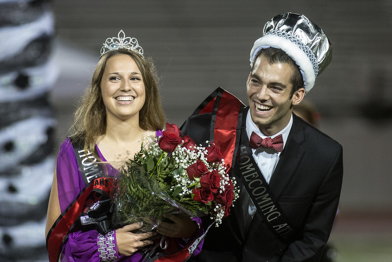 Tanner Boyzuick and Claire Despain announced Homecoming King and Queen