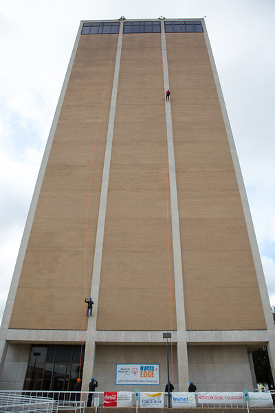 STEP teacher, Daina Hunt, Goes 'Over the Edge'  to Support Special Olympics