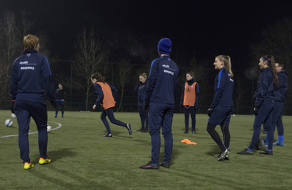 20170127 - GENK - Training KRC Ladies Genk - Fien Steyvers