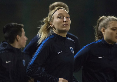 2017-02-02 - GENK - Training KRC Genk Ladies - Jessica Pironet