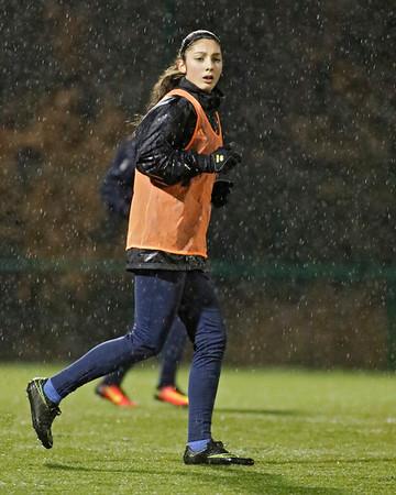 20170112 - Belgie - Genk  - Ladies Genk - Training - Amber Tysiak (Ladies Genk)