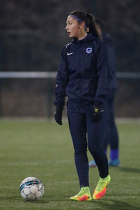 20170209 - GENK - Training KRC Ladies Genk - Amber Tysiak