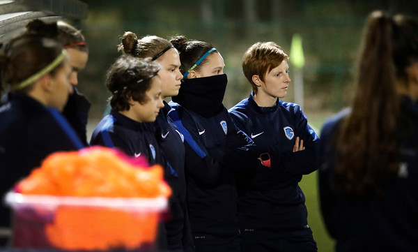 2017-02-16 - GENK - Training Genk Ladies - Gwen Duijsters - Lien Mermans - Yenthe Kerckhofs
