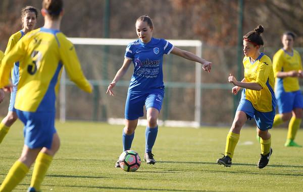 2017-02-18 - GENK - KRC Genk Ladies II - Wuustwezel FC - Janne Geers