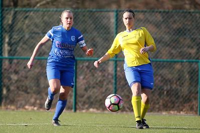2017-02-18 - GENK - KRC Genk Ladies II - Wuustwezel FC - Debora Lenaerts