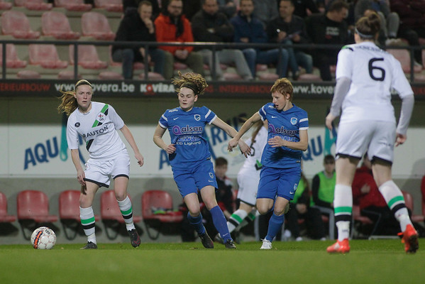 2017-03-14 - Leuven - OHL Leuven Ladies - KRC Genk Ladies - Sylke Calleeuw - Lien Mermans