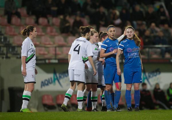 2017-03-14 - Leuven - OHL Leuven Ladies - KRC Genk Ladies - Sylke Calleeuw - Amber Tysiak