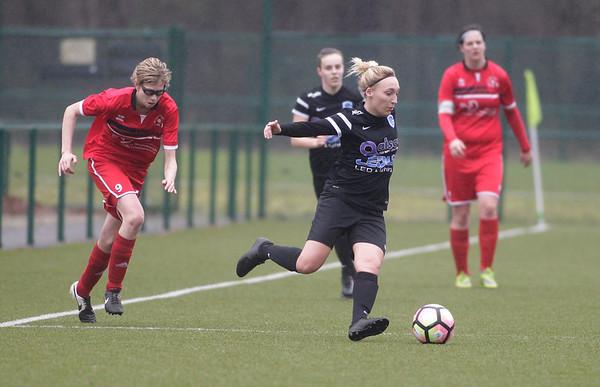 2017-03-18 - GENK - KRC Genk II - FC Halvenweg Zonhoven -  Jessica Pironet