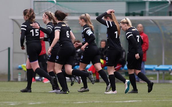 2017-03-18 - GENK - KRC Genk II - FC Halvenweg Zonhoven - Nadine Hanssen - Jessica Pironet