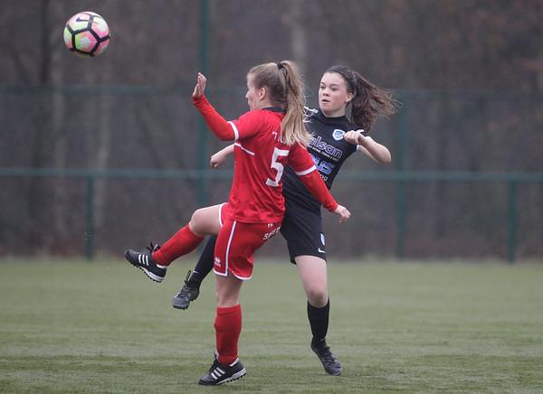 2017-03-18 - GENK - KRC Genk II - FC Halvenweg Zonhoven - Hanne Kerkhofs