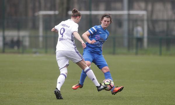 2017-03-18 - GENK - KRC Genk Ladies - RSC Anderlecht - Floor Caelen - Yana Daniels