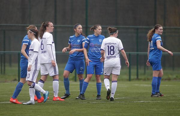 2017-03-18 - GENK - KRC Genk Ladies - RSC Anderlecht - Annelies Menten - Marlies Verbruggen
