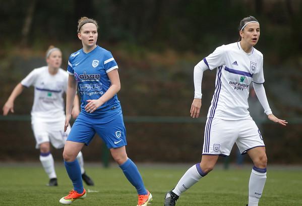 2017-03-18 - GENK - KRC Genk Ladies - RSC Anderlecht - Yenthe Kerckhofs - Laura Deneve