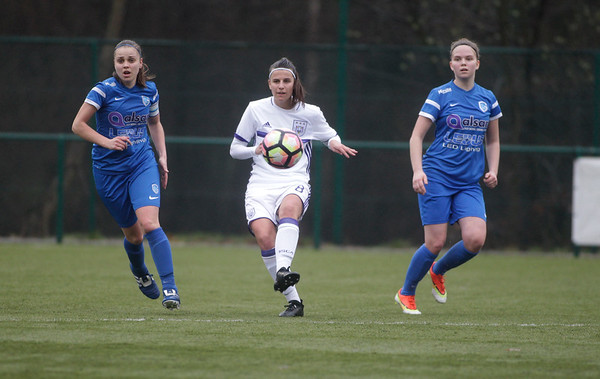 2017-03-18 - GENK - KRC Genk Ladies - RSC Anderlecht - Riete Loos - Laura Deneve - Yenthe Kerckhofs