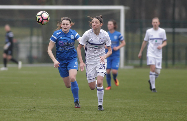 2017-03-18 - GENK - KRC Genk Ladies - RSC Anderlecht - Sylke Calleeuw - Nicky van den Abbeele