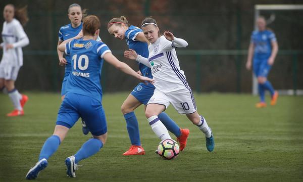 2017-03-18 - GENK - KRC Genk Ladies - RSC Anderlecht - Lore Vanschoenwinkel - Anaelle Wiard