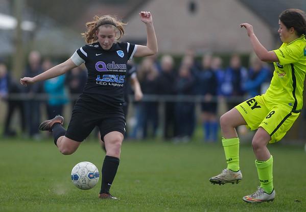 2017-03-29 - Genk - Beker van Belgie - KRC Genk Ladies U16 - AA Gent U16 - Lonneke van Eijk