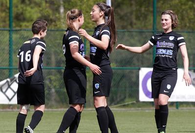 2017-04-22 - GENK - KRC Genk Ladies ll - Anderlecht lll -  Amber Tysiak - Esther Knevels - Esther Oversteyns - Floor Caelen