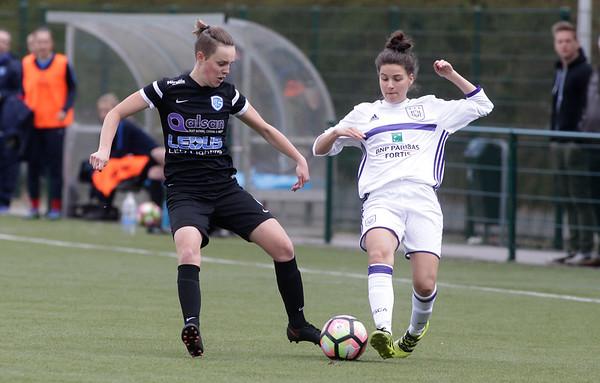2017-04-22 - GENK - KRC Genk Ladies ll - Anderlecht lll - Hannelore Dilissen