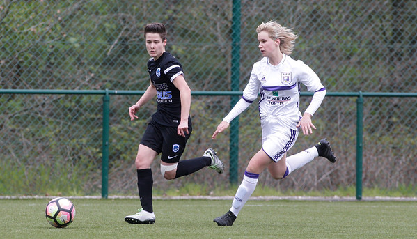 2017-04-22 - GENK - KRC Genk Ladies ll - Anderlecht lll - Esther Knevels