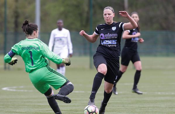 2017-04-22 - GENK - KRC Genk Ladies ll - Anderlecht lll - Esther Oversteyns - Joyce Vidal