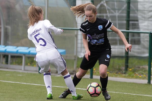 2017-04-22 - GENK - KRC Genk Ladies ll - Anderlecht lll - Janne Geers  - Lola Peron