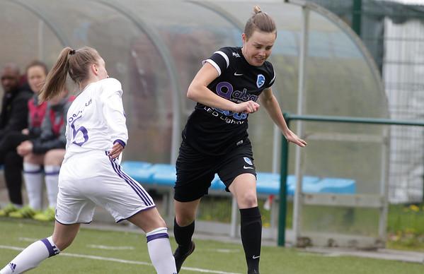 2017-04-22 - GENK - KRC Genk Ladies ll - Anderlecht lll - Hannelore Dilissen - Lola Peron