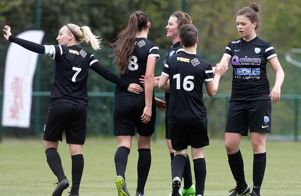 2017-04-22 - GENK - KRC Genk Ladies ll - Anderlecht lll - Floor Caelen - Amber Tysiak - Esther Knevels - Jessica Pironet - Hanne Kerkhofs