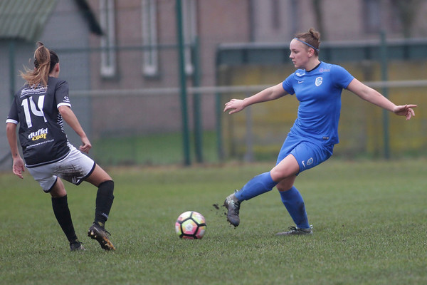 Genk - 20171223 - KRC Genk Ladies - Eendracht Aalst - Beker van Belgie - Sharon Zagar of KRC Genk Ladies