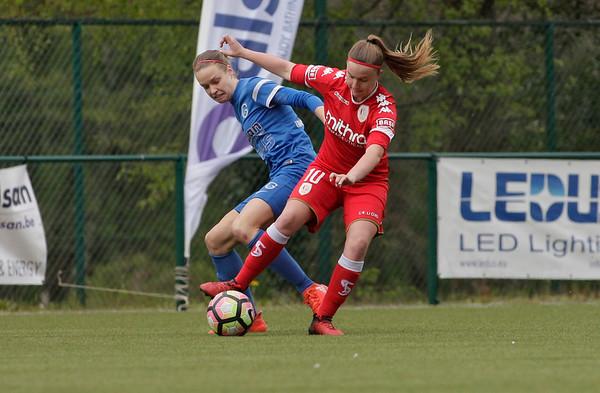 2017-04-22 - GENK - KRC Genk Ladies - Standard Liege - Davinia Vanmechelen - Lore Vanschoenwinkel