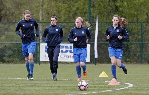 2017-04-22 - GENK - KRC Genk Ladies - Standard Liege - Hanne Merkelbach - Fien Steyvers - Silke Leynen - Sylke Calleeuw