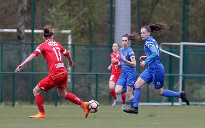 2017-04-22 - GENK - KRC Genk Ladies - Standard Liege - Gwen Duijsters - Ellen Charlier