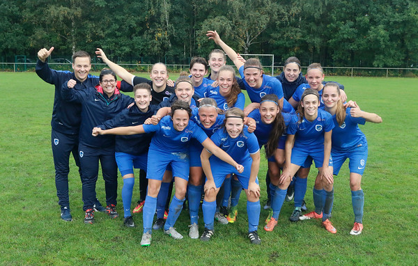 20170930 - KRC Genk Ladies - KVC Sterrebeek - illustratie of KRC Genk Ladies