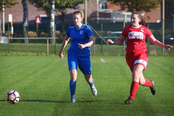 Chelsey van Roosbroeck of KRC Genk Ladies