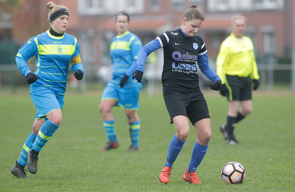 Chelsey van Roosbroeck of KRC Genk Ladies