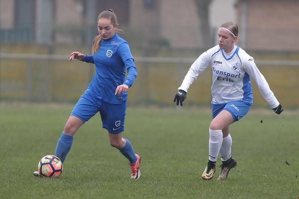 KRC Genk Ladies Beloften - Moldavo -  Janne Geers of KRC Genk Ladies