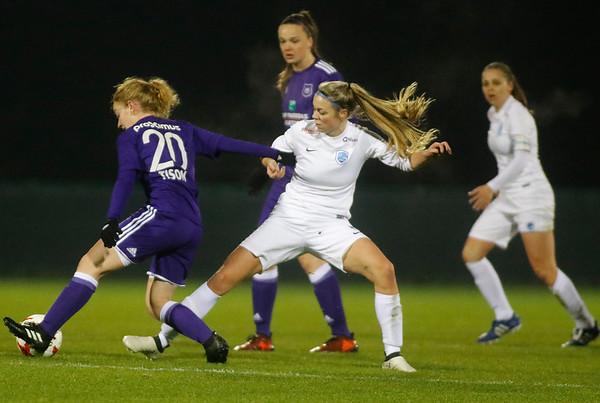 RSA Anderlecht - KRC Genk Ladies - Nadine Hanssen of KRC Genk Ladies