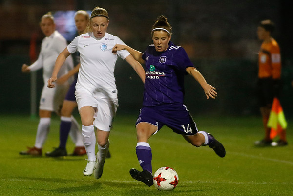 RSA Anderlecht - KRC Genk Ladies - Silke Leynen of KRC Genk Ladies